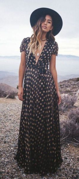 35 Adorable Bohemian Fashion Styles For Spring Summer (9)