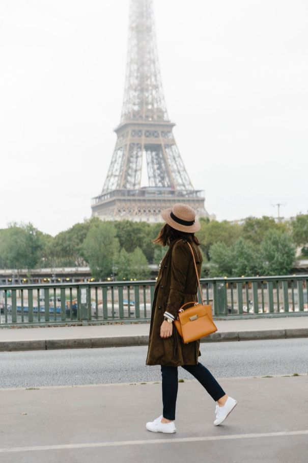 51 Fall Travel Outfit Ideas For You Who Always On The Go (4)