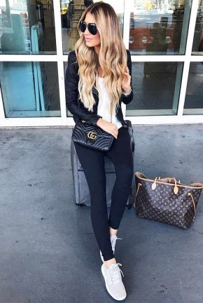 51 Fall Travel Outfit Ideas For You Who Always On The Go (9)