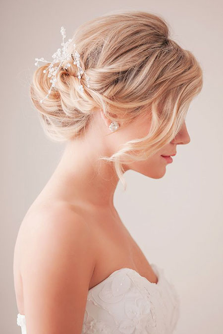 Bridal Hairtyle for Short Hair, Wedding Hair Hairtyles Bridal