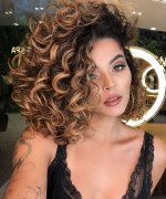 55 Popular Short Curly Hair Ideas