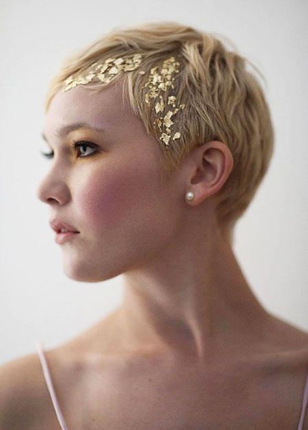 Pixie Hair Wedding Short