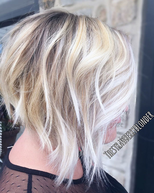 Short Blonde Highlights
