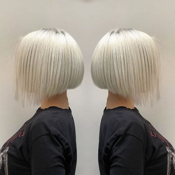 Short Bob Blonde Hair