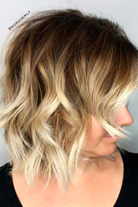 Hair Balayage Blonde Trendy
