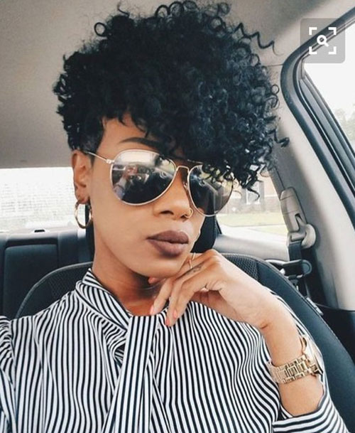 Short Hair Cuts on Black Women-12