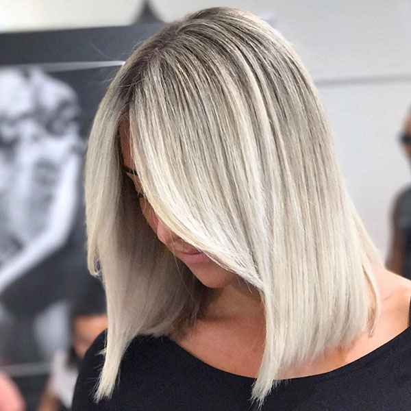 Medium Short Blonde Hair