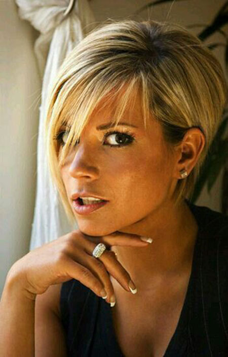 Hair Short Victoria Beckham