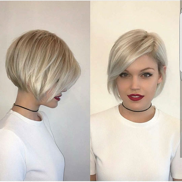 Short Cool Blonde Hair