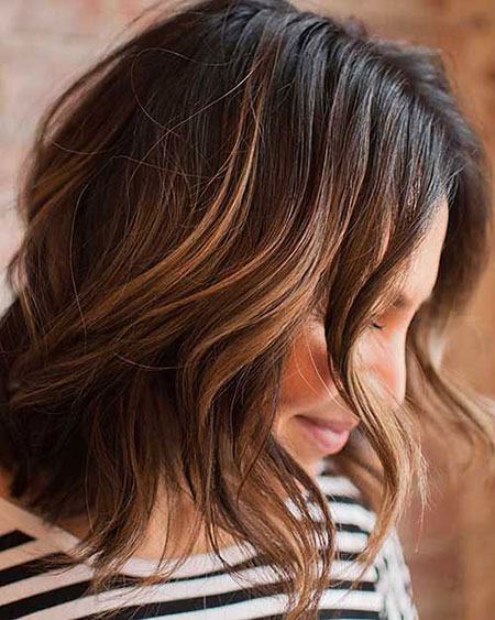 Balayage Hair Layered Length