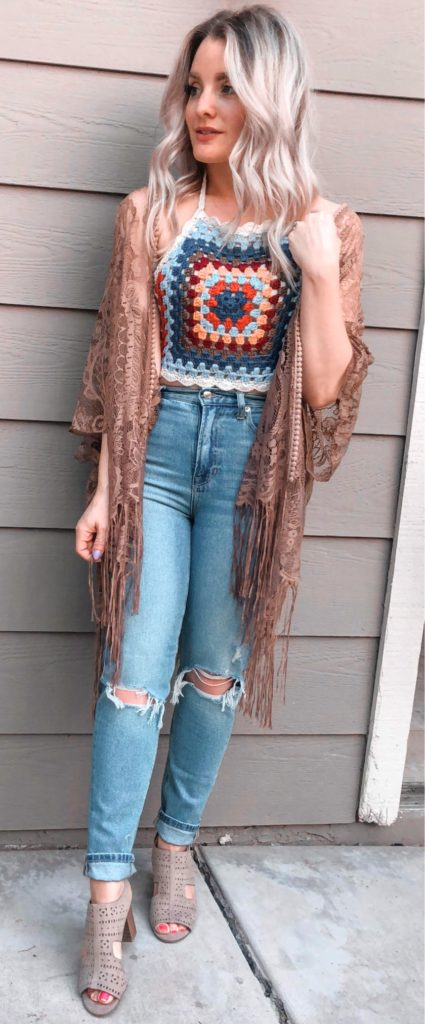 25+ Brilliant Summer Outfits To Copy ASAP - brown cardigan #summer #outfits #summeroutfits #summerfashion #summerstyle