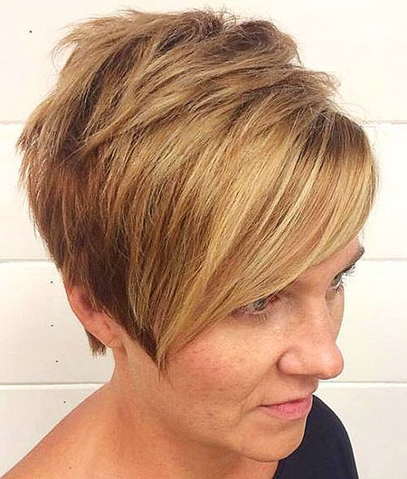 Blonde Bob Short Pixie