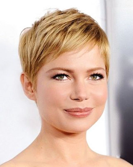 Short Pixie Cuts for Fine Hair, Pixie Williams Short Round