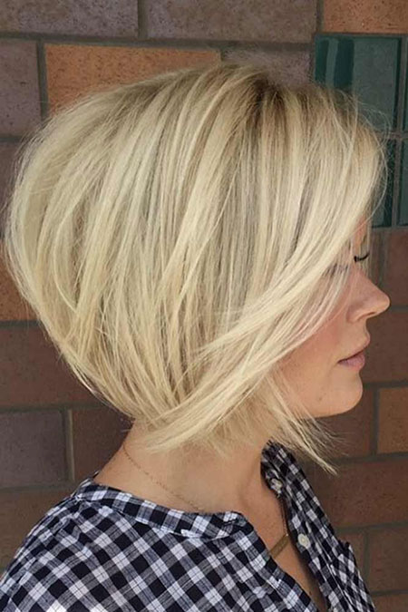 Blonde Short Bob Haircuts