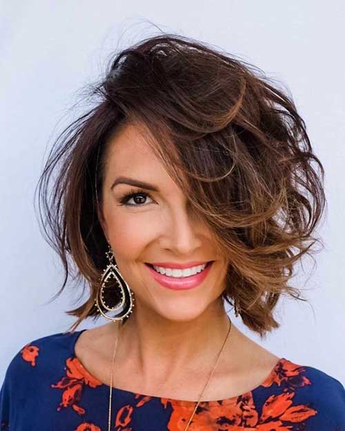 Short Choppy Layered Hair-18