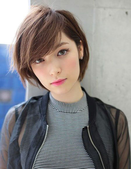 Short Bob Hair Up