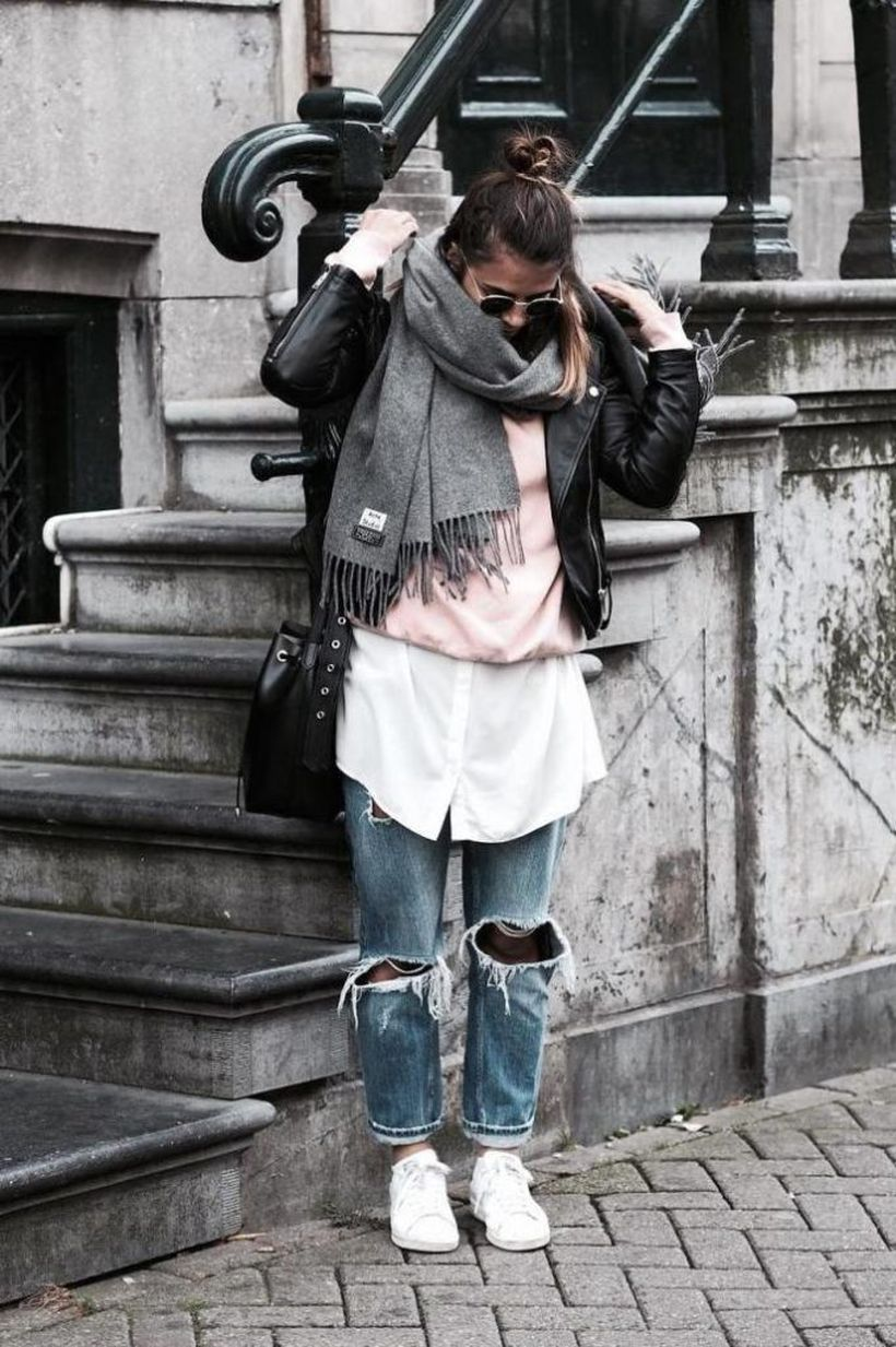 Casual-fall-layer-outfit.-