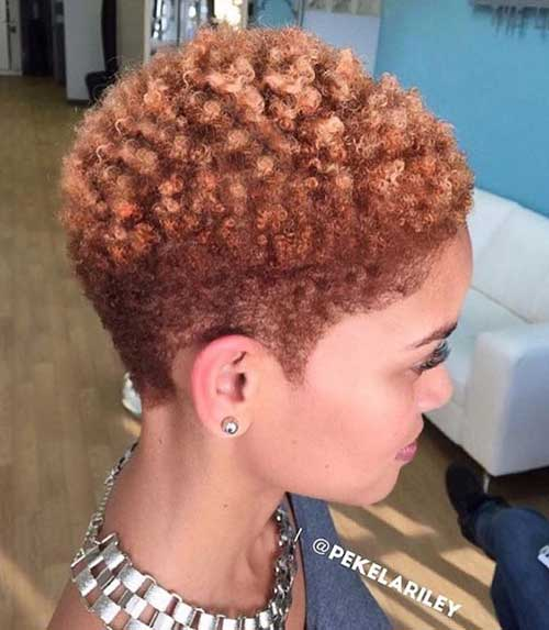 Short Naturally Curly Haircuts