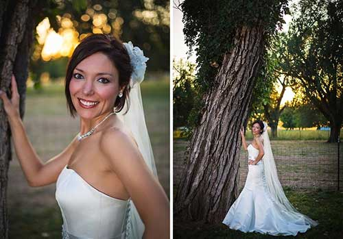 Simple Short Wedding Hairstyles with Thin Hair
