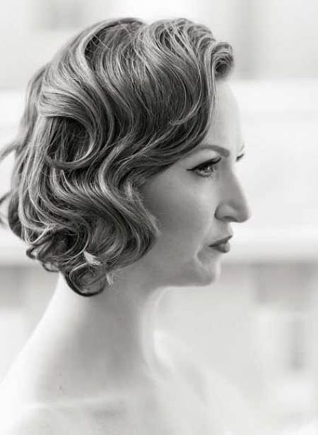 20 Short Hairstyles for Brides_1