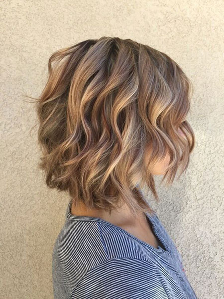 Hair Medium Wavy Balayage