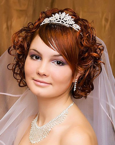 Brides Hairstyles for Short Hair_10