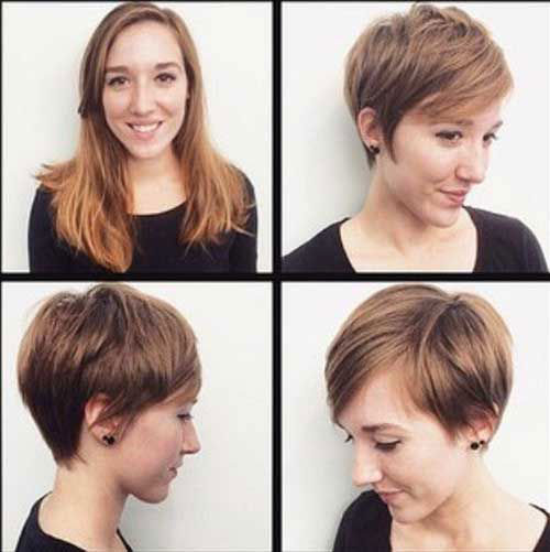 Short Hairstyles for Fine Thin Straight Hair-10