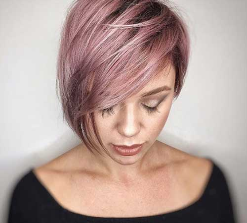 Short Hairstyles for Thick Straight Hair-11