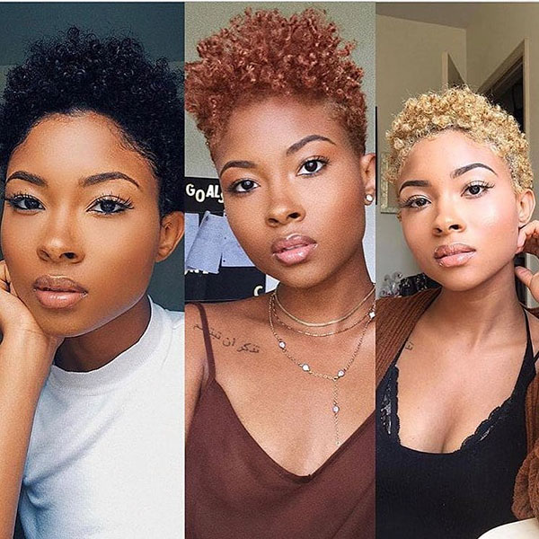 Short Curly Hairstyles For Black Women 2019