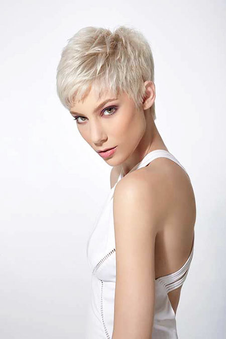 Layered Cut, Pixie Short Thin Wig