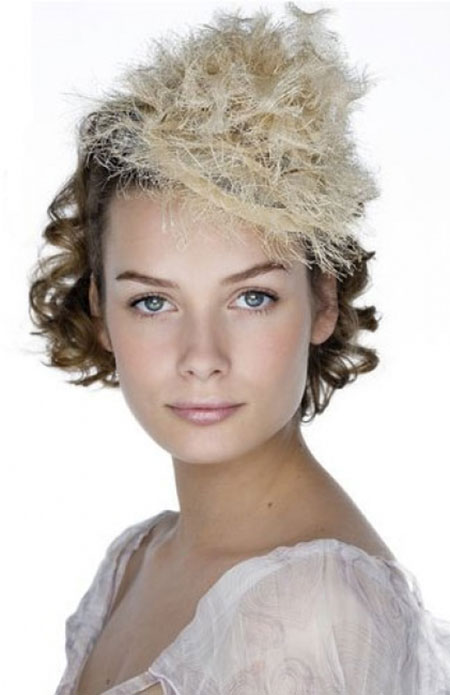 19 Wedding Hairstyle Short Hair_10