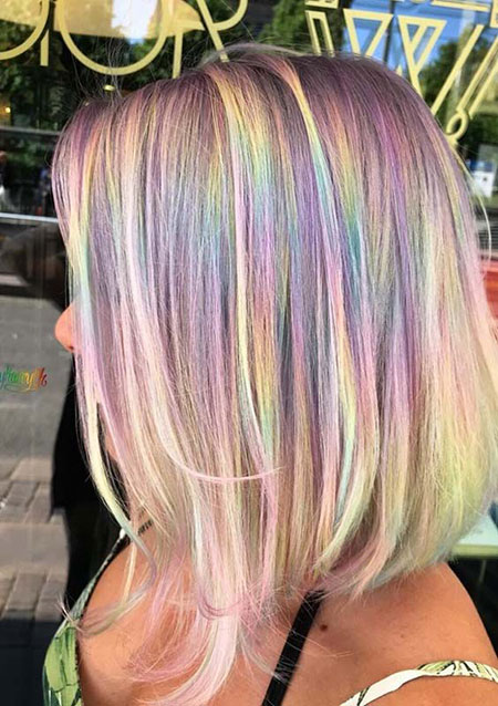 Hair Color Rainbow Up
