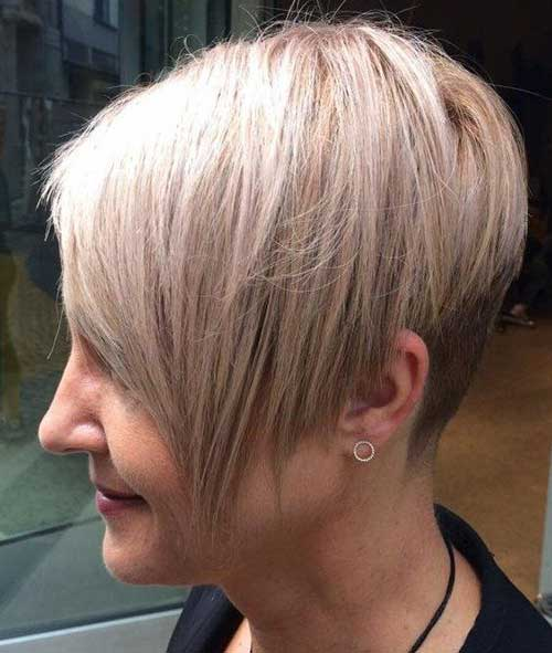 Short Blonde Hairstyles-9