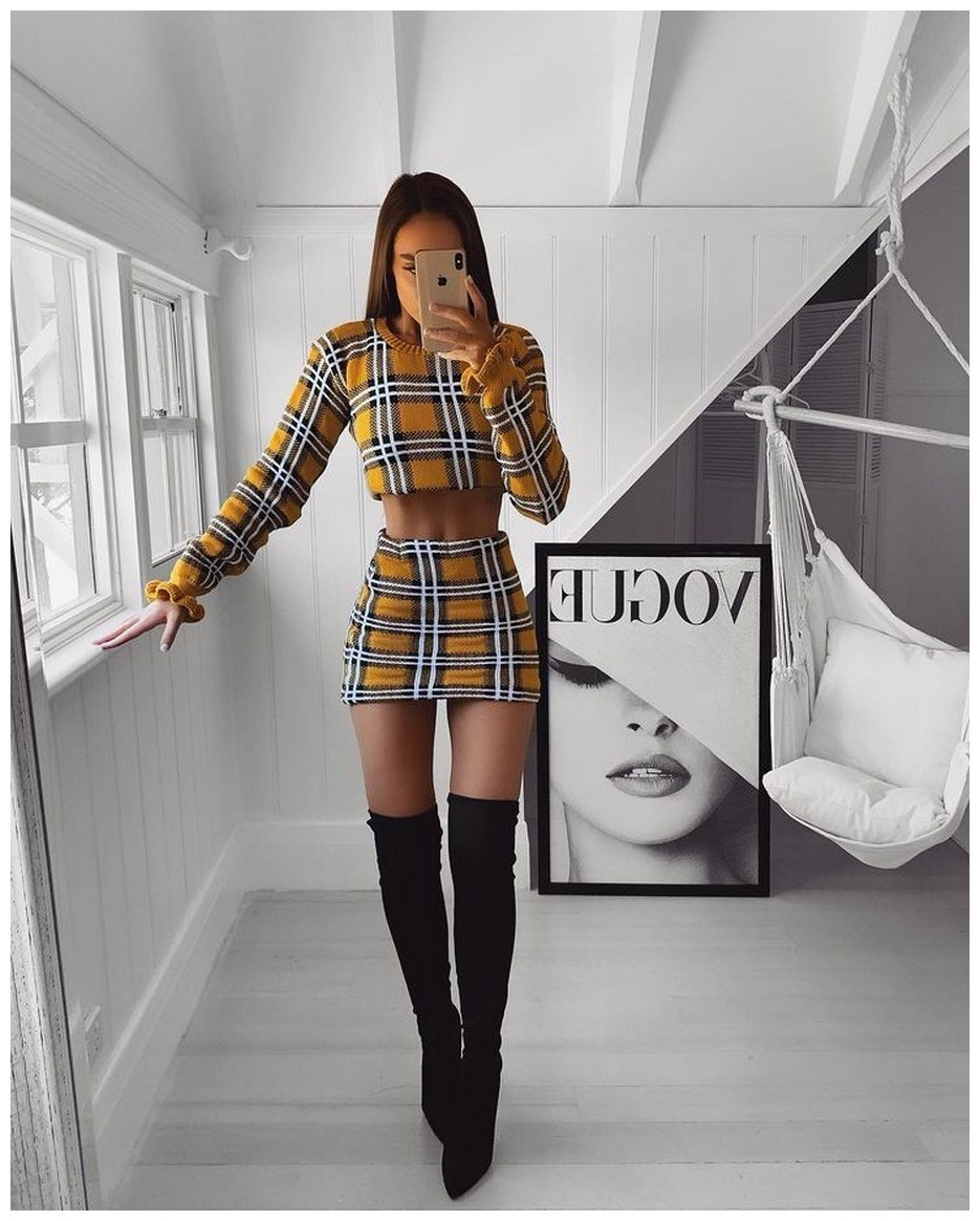 40+ ways to wear thigh high boots this winter 1