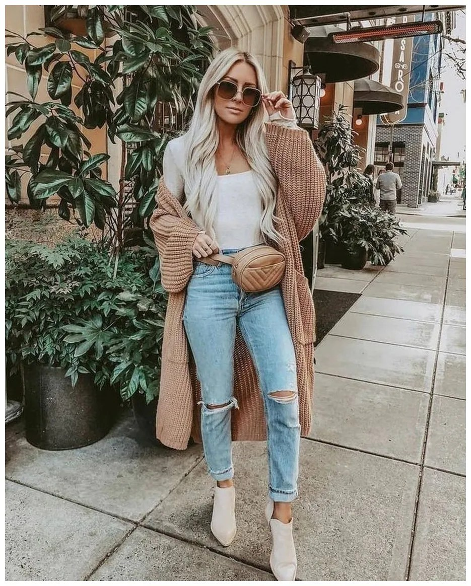 60+ comfy winter brunch outfits for girls 21