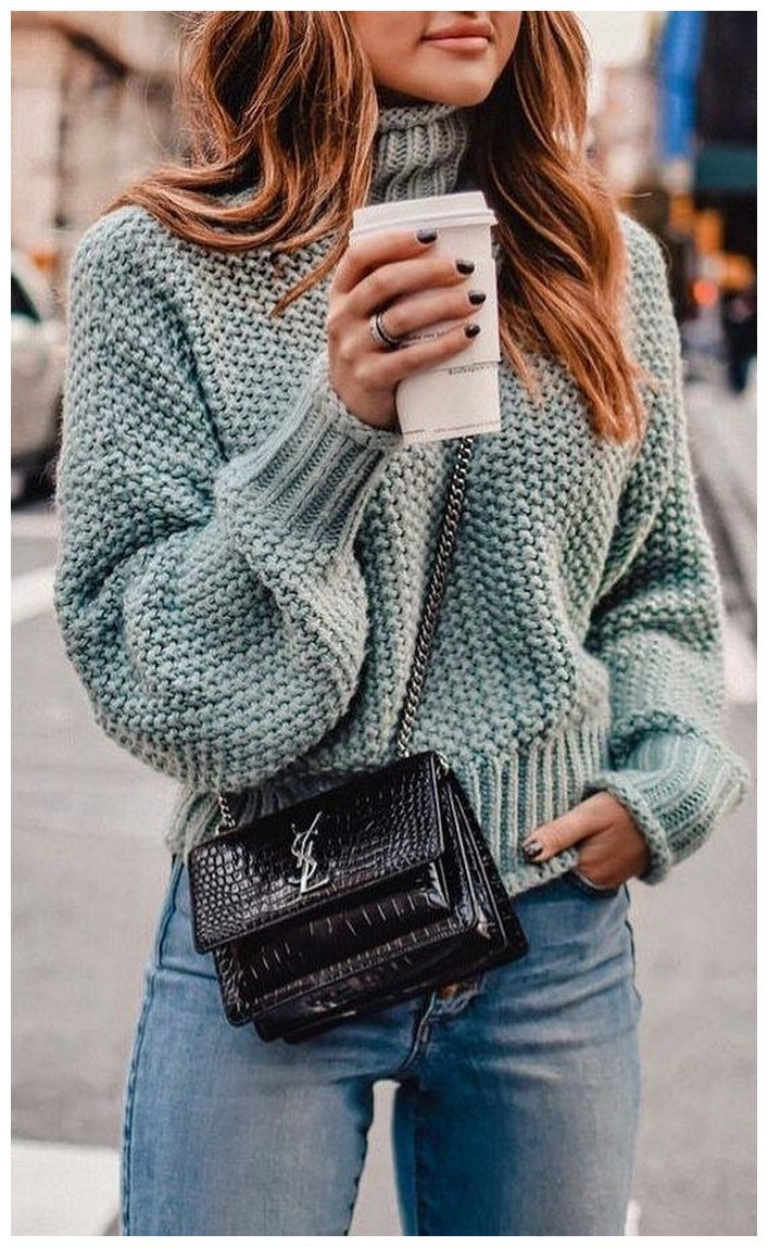 60+ comfy winter brunch outfits for girls 44