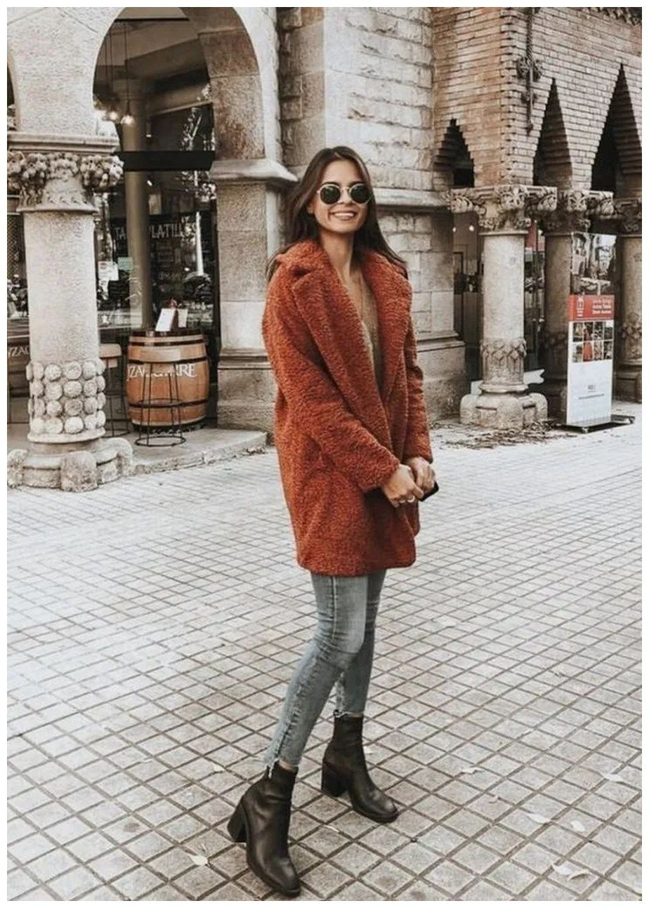 50+ pretty winter outfits you can wear on repeat 34