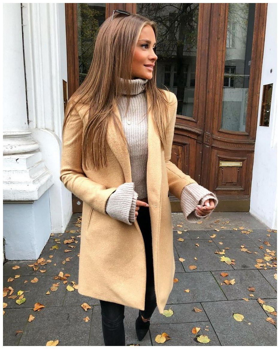 50+ pretty winter outfits you can wear on repeat 33