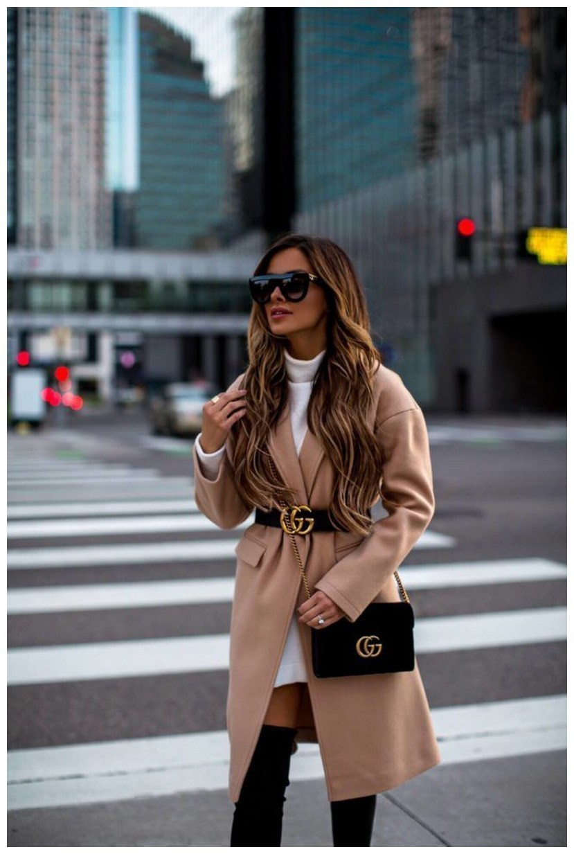 50+ pretty winter outfits you can wear on repeat 50
