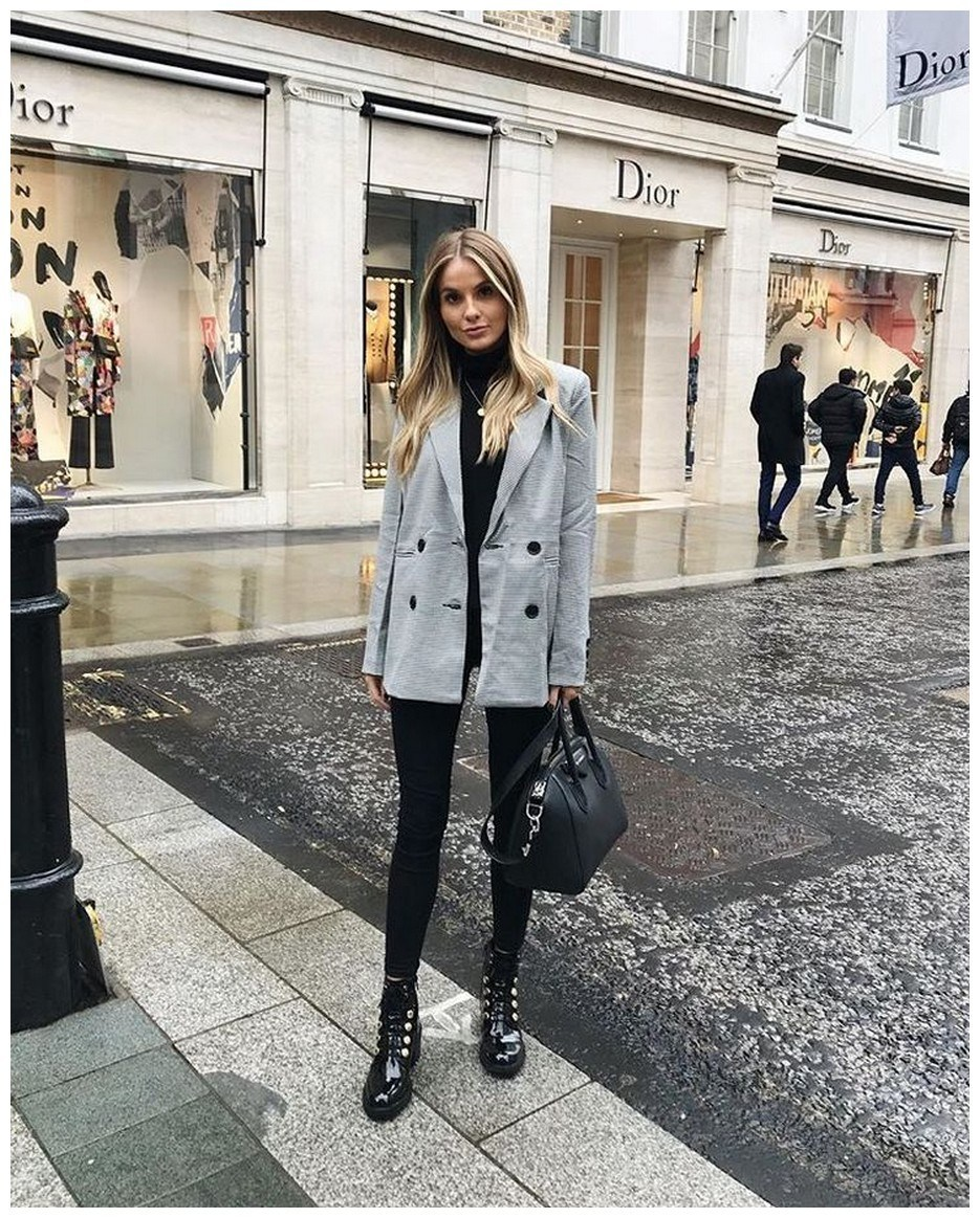 50+ pretty winter outfits you can wear on repeat 44