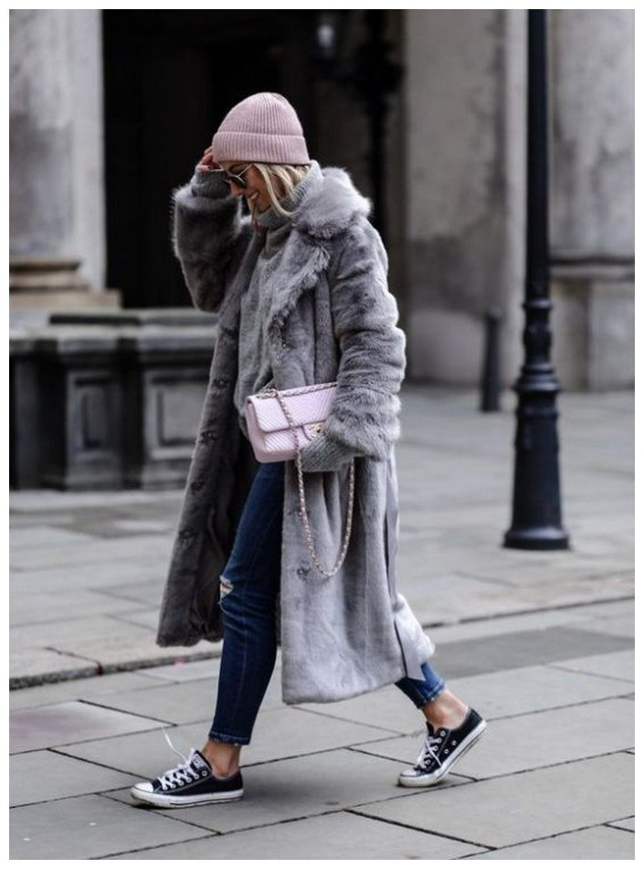 50+ pretty winter outfits you can wear on repeat 2