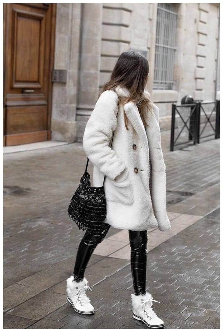 50+ pretty winter outfits you can wear on repeat 27