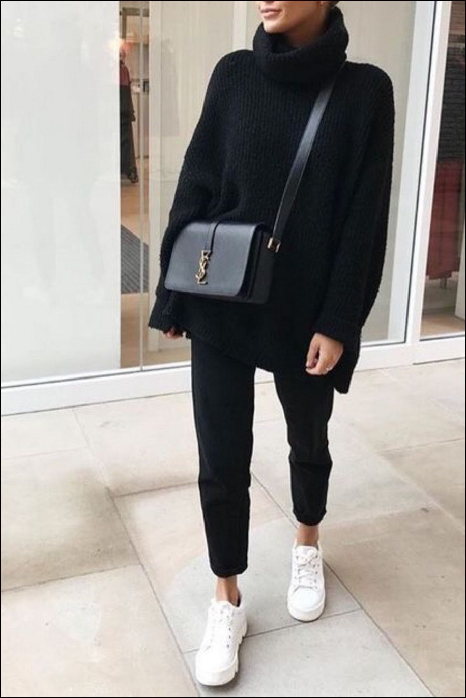 55+ magnificient winter outfits ideas to wear right now 10