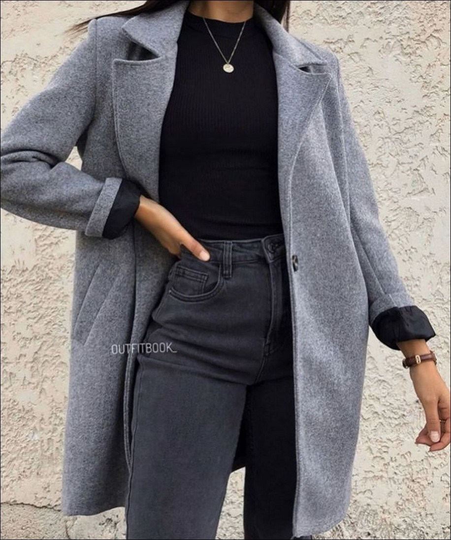 55+ magnificient winter outfits ideas to wear right now 26