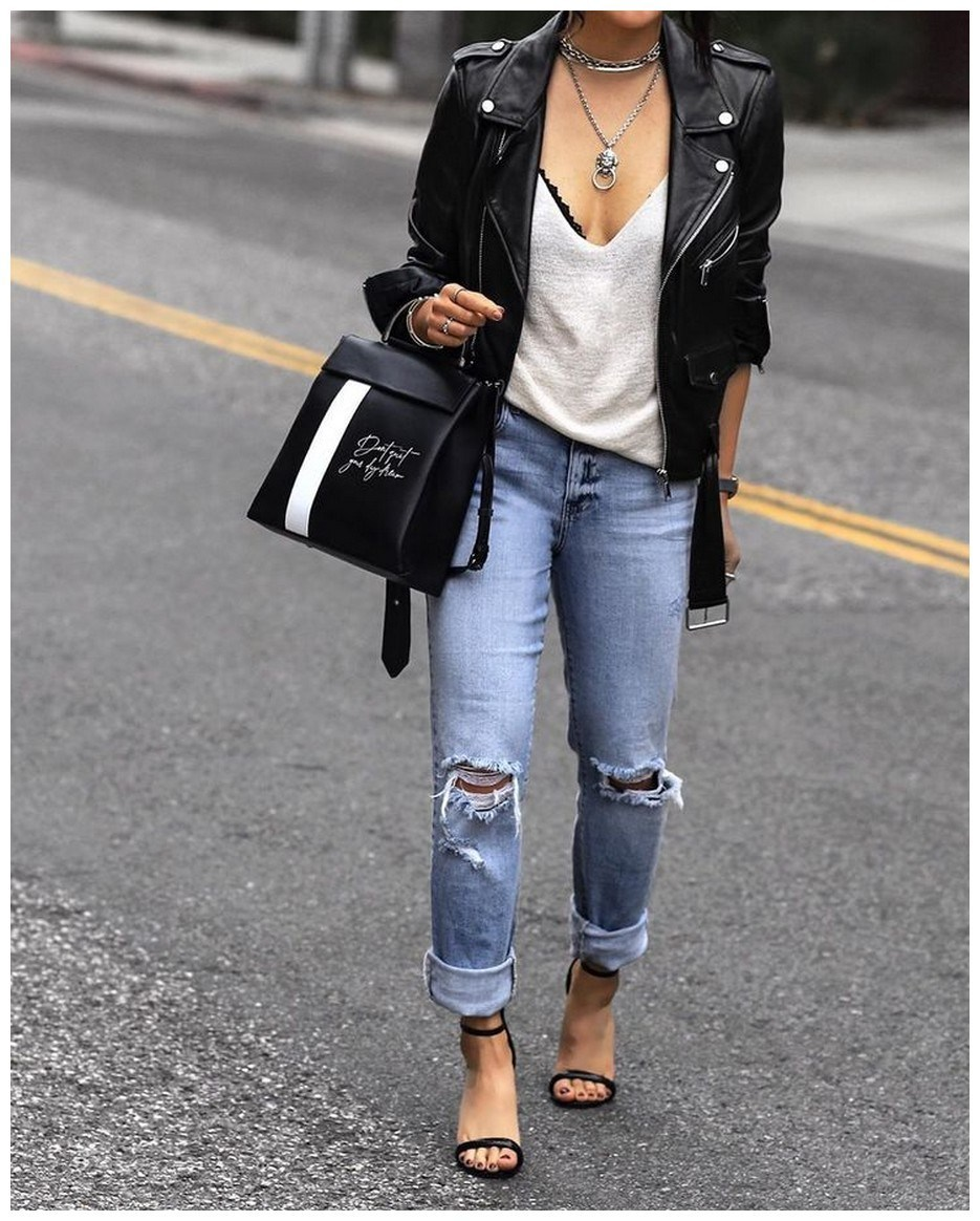 34+ rocker chic winter outfits you will love fashionplace info 33