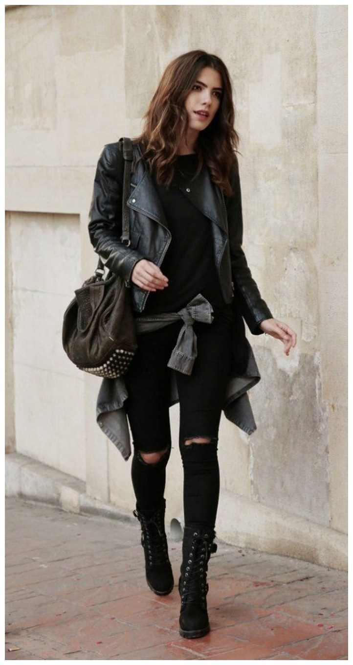 34+ rocker chic winter outfits you will love fashionplace info 31