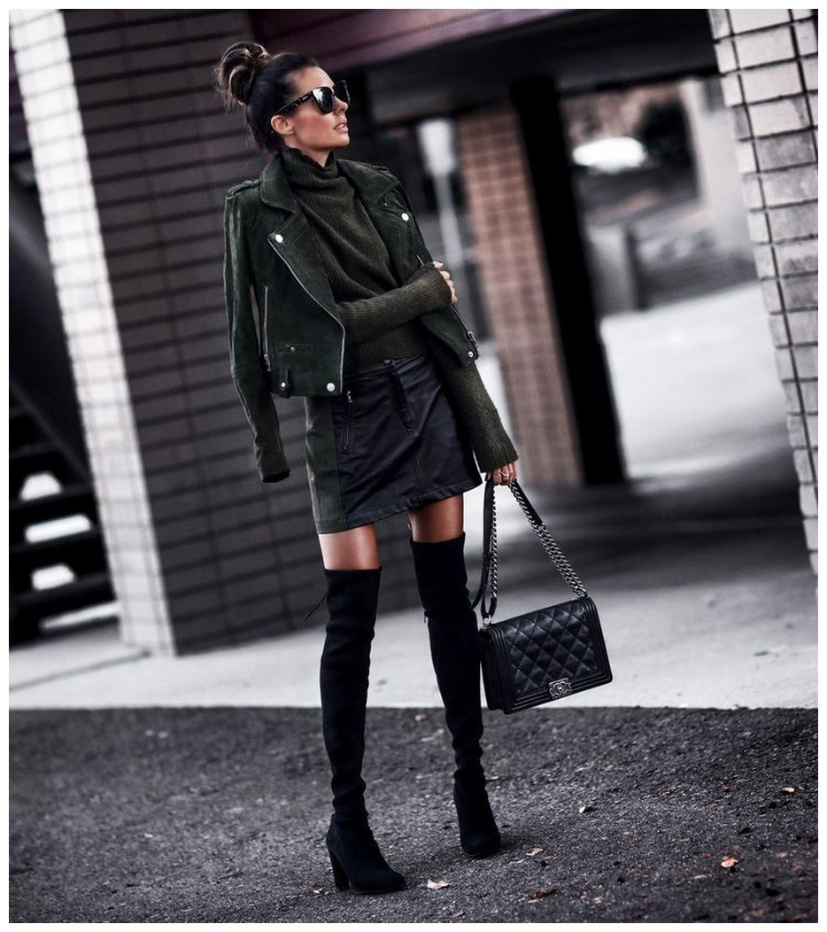 34+ rocker chic winter outfits you will love fashionplace info 37