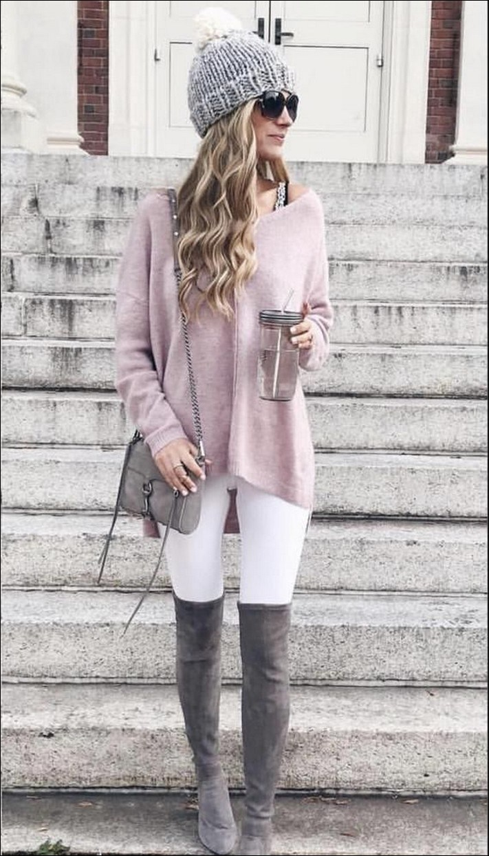 40+ best inspiring women winter outfit ideas 44
