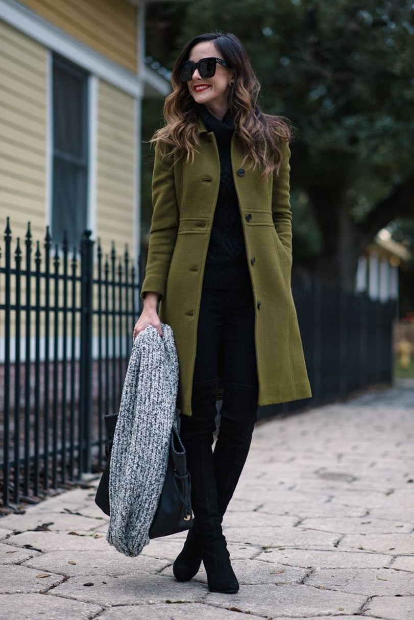 41+ combination for boots and coats this winter 26