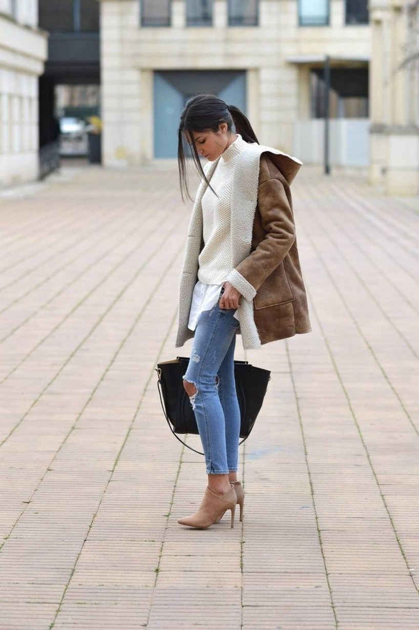 41+ combination for boots and coats this winter 35
